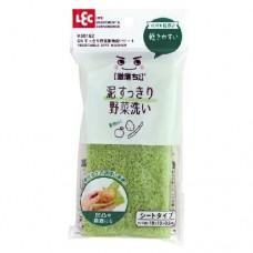 LEC Тонкая губка для мытья овощей, 1шт