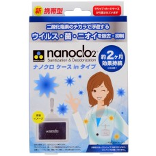Блокатор вирусов для индивидуальной защиты Nanoclo2 карта с чехлом, коробка 1 шт