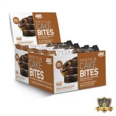 Батончики спортивные CAKE BITES - Пончик в шоколадной глазури, 65 г, 9 шт.