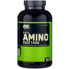 Аминокислота Optimum Nutrition Super Amino 2222, 160 капсул