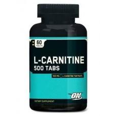 Optimum Nutrition L-карнитин 500 мг (60 шт.) нейтральный