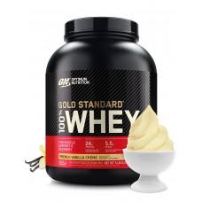 Протеин Optimum Nutrition 100% Whey Gold Standard 2270 г, французский ванильный крем