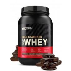 Протеин Optimum Nutrition 100% Whey Gold Standard 907 г двойной шоколад
