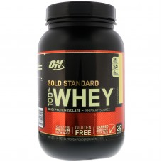Протеин Optimum Nutrition 100% Whey Gold Standard 907 г французский ванильный крем