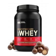 Протеин Optimum Nutrition 100% Whey Gold Standard 907 г шоколадный солод