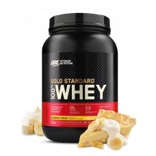 Протеин Optimum Nutrition 100% Whey Gold Standard 907 г банановый крем