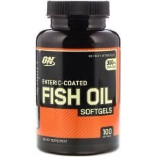 Рыбий жир Optimum Nutrition Fish Oil Softgels, 100 капсул