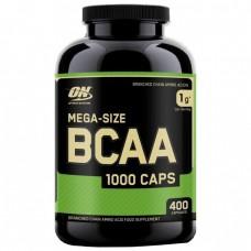 Аминокислоты Optimum Nutrition BCAA 1000, 400 капсул