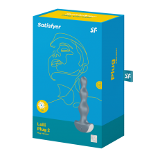 Satisfyer Анальная вибропробка Lolli Plug 2, серый