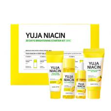 Some By Mi Набор миниатюр с юдзу для выравнивания тона Yuja Niacin 30 Days Brightening Starter Kit