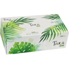 Taka Home Салфетки бумажные Green Forest 2 слоя, 200 шт