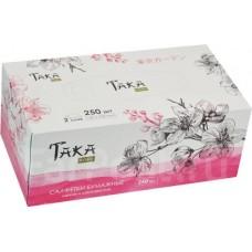 Taka Home Салфетки бумажные Tokyo Garden 2 слоя, 250 шт