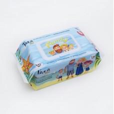 Taka Home Family Салфетки влажные Антибактериальные (с крышкой) 120 шт