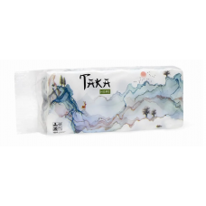 Бумага туалетная Taka Home 2 слоя 4 рулона, 100% целлюлоза, 100 г, 10шт