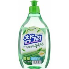 CJ Lion Средство для мытья посуды Chamgreen с ароматом зеленого чая, флакон, 480 мл