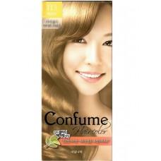 Welcos Стойкая крем-краска для волос Confume Hair Color тон 113 светло-каштановый, 60мл+60мл+40мл