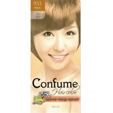 Welcos Стойкая крем-краска для волос Confume Hair Color тон 933 медовый золотой, 60мл+60мл+40мл