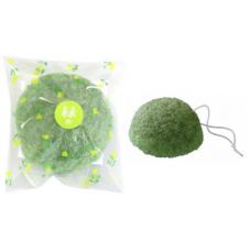 Спонж конняку для умывания лица с экстрактом зеленого чая, YAMAMOTO 1 шт