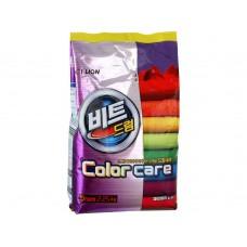 CJ Lion Стиральный порошок Beat Drum Color для цветного белья, мягкая упаковка, 2,25 кг