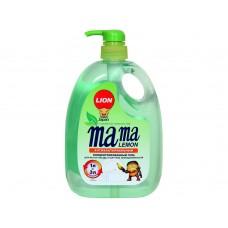 Mama Lemon, Концентрированное средство для мытья посуды Зеленый чай, 1 л
