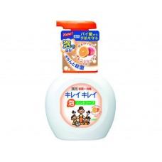 Lion Kirei Kirei пенное мыло для рук с ароматом апельсина, флакон-дозатор, 250 мл