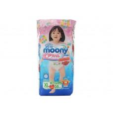 Moony, трусики для девочек BIG (12-17 кг) 38 шт