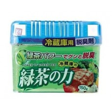 KOKUBO Дезодорант-поглотитель неприятных запахов, с древесным углем, для холод.(овощная кам.), 150 г