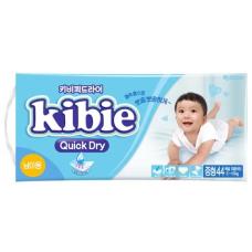 Kibie Quick Dry подгузники для мальчиков M 5-10 кг, 44 шт