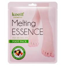Koelf Маска-носочки для ног Смягчающая, 1 шт