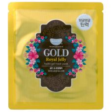 Koelf Маска для лица гидрогелевая с золотом и маточным молочком, 1 шт