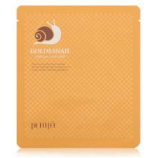 Petitfee Маска для лица гидрогелевая Золото и Улитка, 1 шт