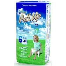 Skippy Pull Up трусики-подгузники для детей, размер XXL (16-25 кг) 44 шт