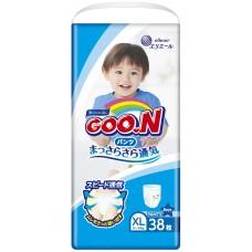 GooN трусики для мальчиков XL (12-20 кг) 38 шт