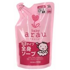 Saraya Arau Baby, жидкое мыло для стирки детского белья, запасной блок 720 мл