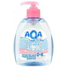 Aqa Baby Гель для подмывания девочек, 300 мл
