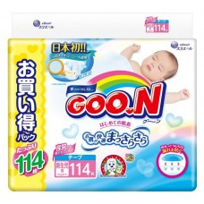 GooN подгузники Ultra Jumbo Pack NB (0-5 кг) 114 шт