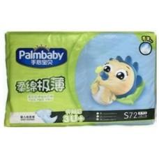 Palmbaby подгузники Comfort, размер S (3-7 кг) 72 шт