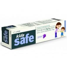 CJ Lion Kids Safe Зубная паста детская Виноград, от 3-х до 12 лет, 90 г