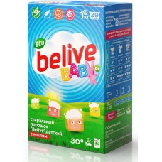 Чистаун Стиральный порошок Belive ECO Baby, 1000 гр