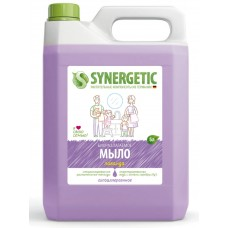 Synergetic Мыло жидкое Лаванда, канистра, 5 л