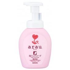 Saraya Arau, мыло-пенка для рук, флакон, 300 мл