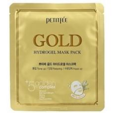 Petitfee Маска для лица гидрогелевая Золото, 1 шт