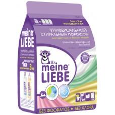 Meine Liebe Универсальный стиральный порошок Концентрат (для цветных и белых), 1000 г