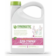 Synergetic Гель для стирки белья, универсальный, 2.75 л