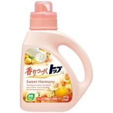 Lion, средство для стирки ТОП-сладкая гармония, аромат цветов и апельсина, флакон 900 мл