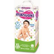 Manuoki, подгузники-трусики, размер М (6-11 кг) 44 шт.