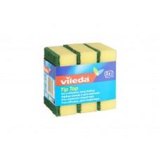 Vileda, губка классическая Тип-Топ, 3 шт