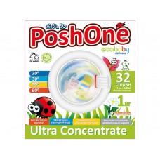 Posh one, Концентрированный стиральный порошок ECO BABY DELIKATE с мерной ложечкой, 1 кг