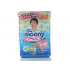 Moony, трусики универсальные М (6-10 кг) 58 шт