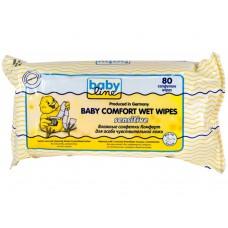 Babyline, влажные салфетки Комфорт Sensitive, 80 шт.